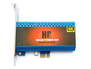 PCIE HDMI 4k60/1080p Video Capture Card - HDMI out/Mac/Linux -HD85
